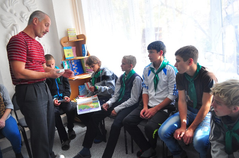 Eco-lessons at Sail of Hope Centre /(с) Phoenix Fund