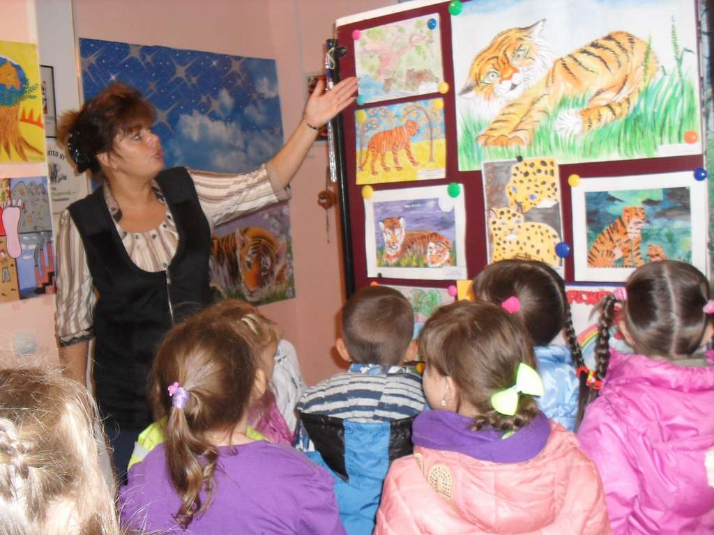 Lessons at eco-centre in Novopokrovka, Krasnoarmeisky district / (с) Phoenix Fund
