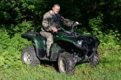 quad bike «Yamaha Grizzly 550»